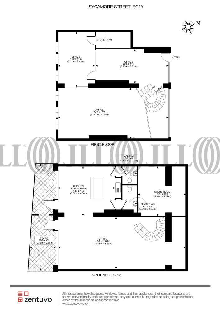 Office London, EC1Y 0SF - 2 Sycamore Street - 42480