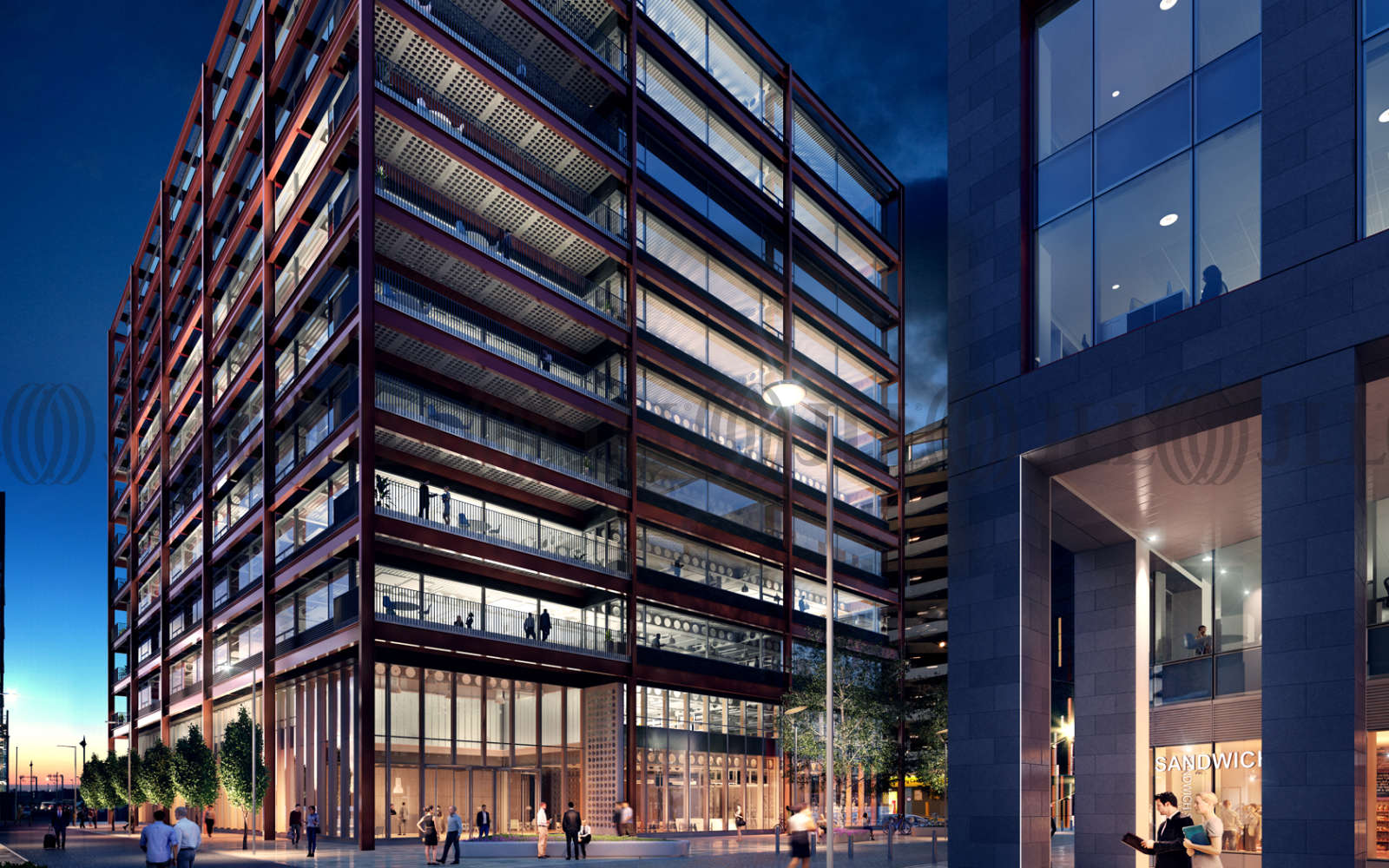 Office Manchester, M3 5ER - Two New Bailey Square  - 4