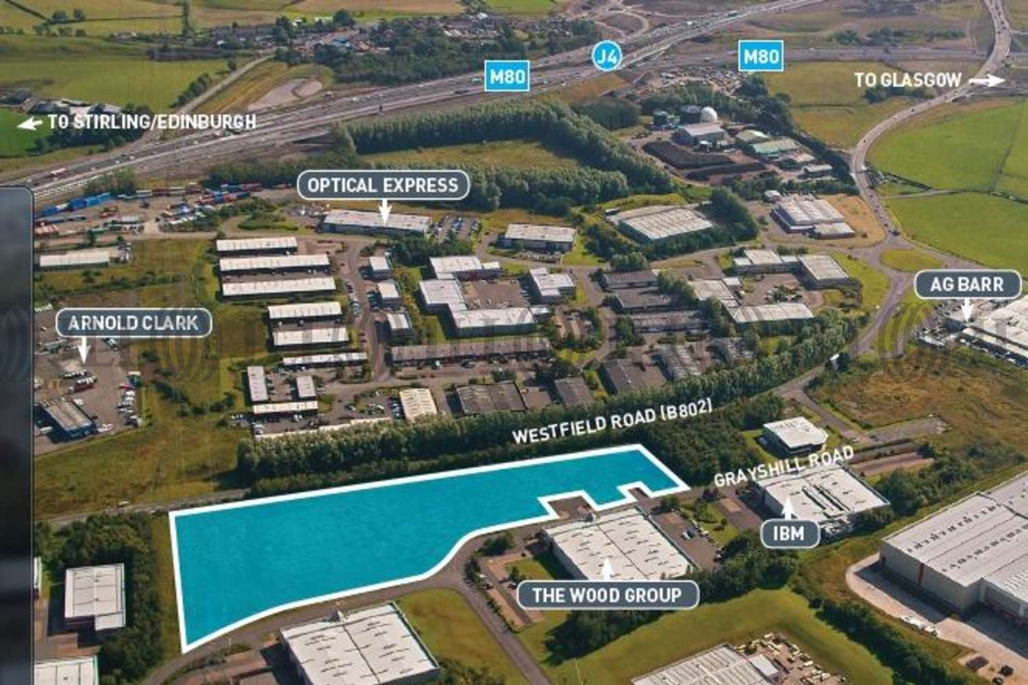 Land Cumbernauld, G68 9HQ - Westfield One - Development Sites