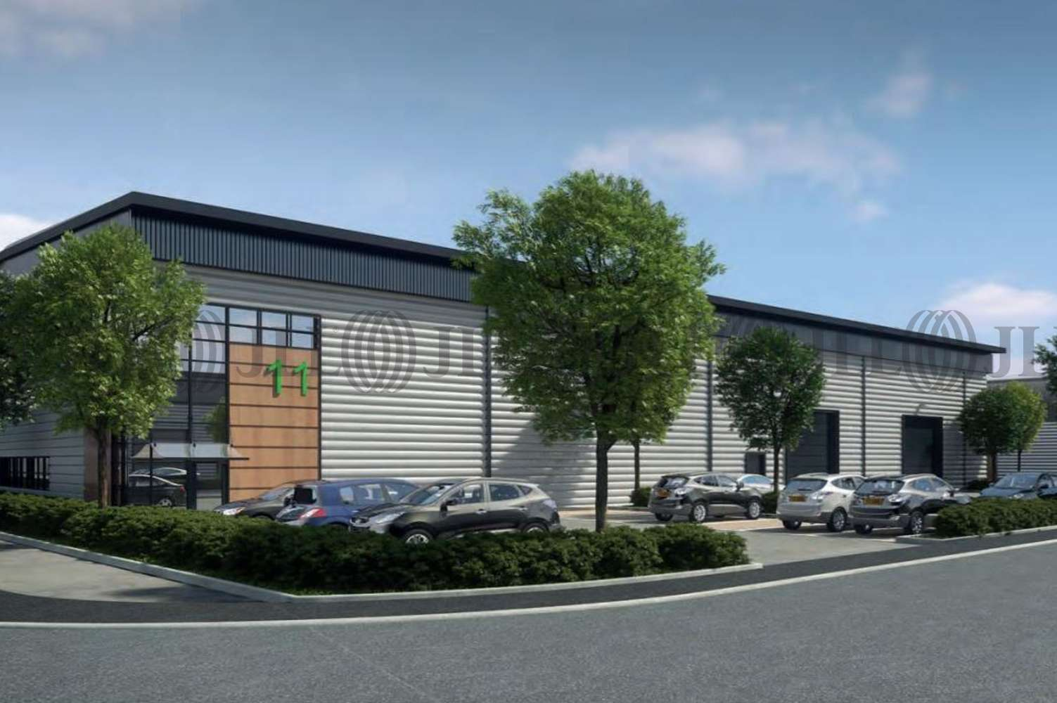 Industrial Egham, TW20 8RJ - Egham Business Park, Ten Acre Lane - 1
