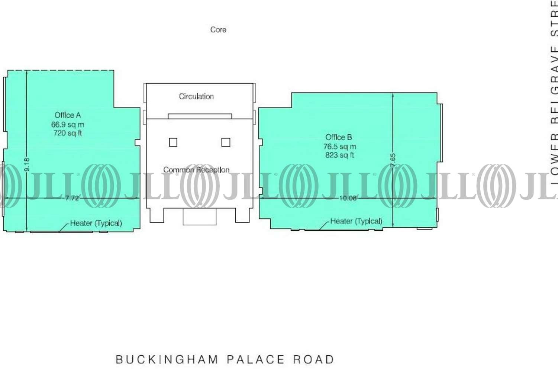 Office London, SW1W 0RR - 60 Buckingham Palace Road - 60