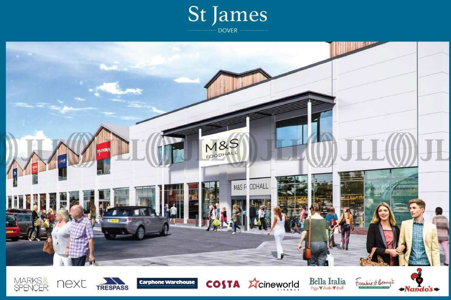 Retail out of town Dover, CT16 1SZ - St James' Development - 38901