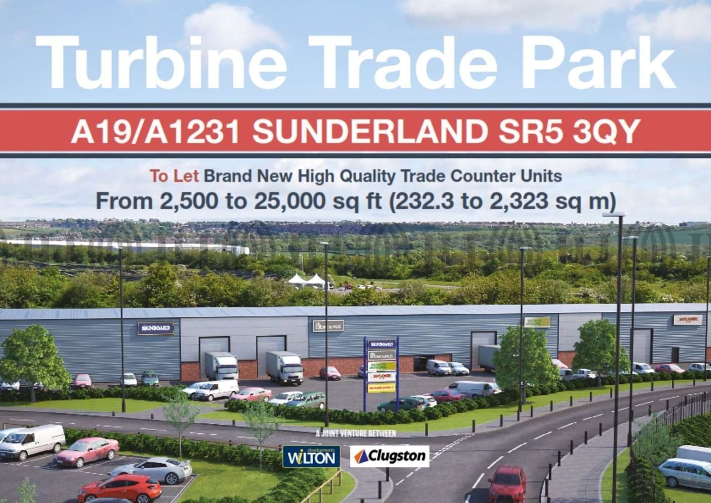 Retail out of town Sunderland, SR5 3QY - Turbine Business Park - 001