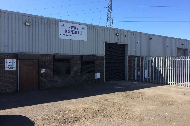 Industrial Paisley, PA3 3BQ - Unit 1B Lyon Road - 1