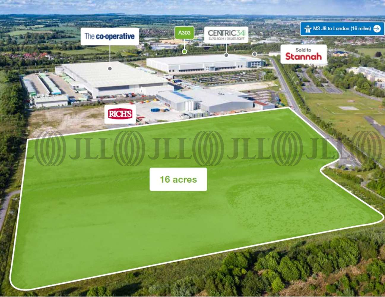 Land Andover, SP11 8BF - Andover Business Park
