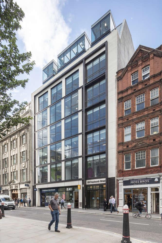 Offices London, EC3M 6AL - 155 Fenchurch Street - 3825