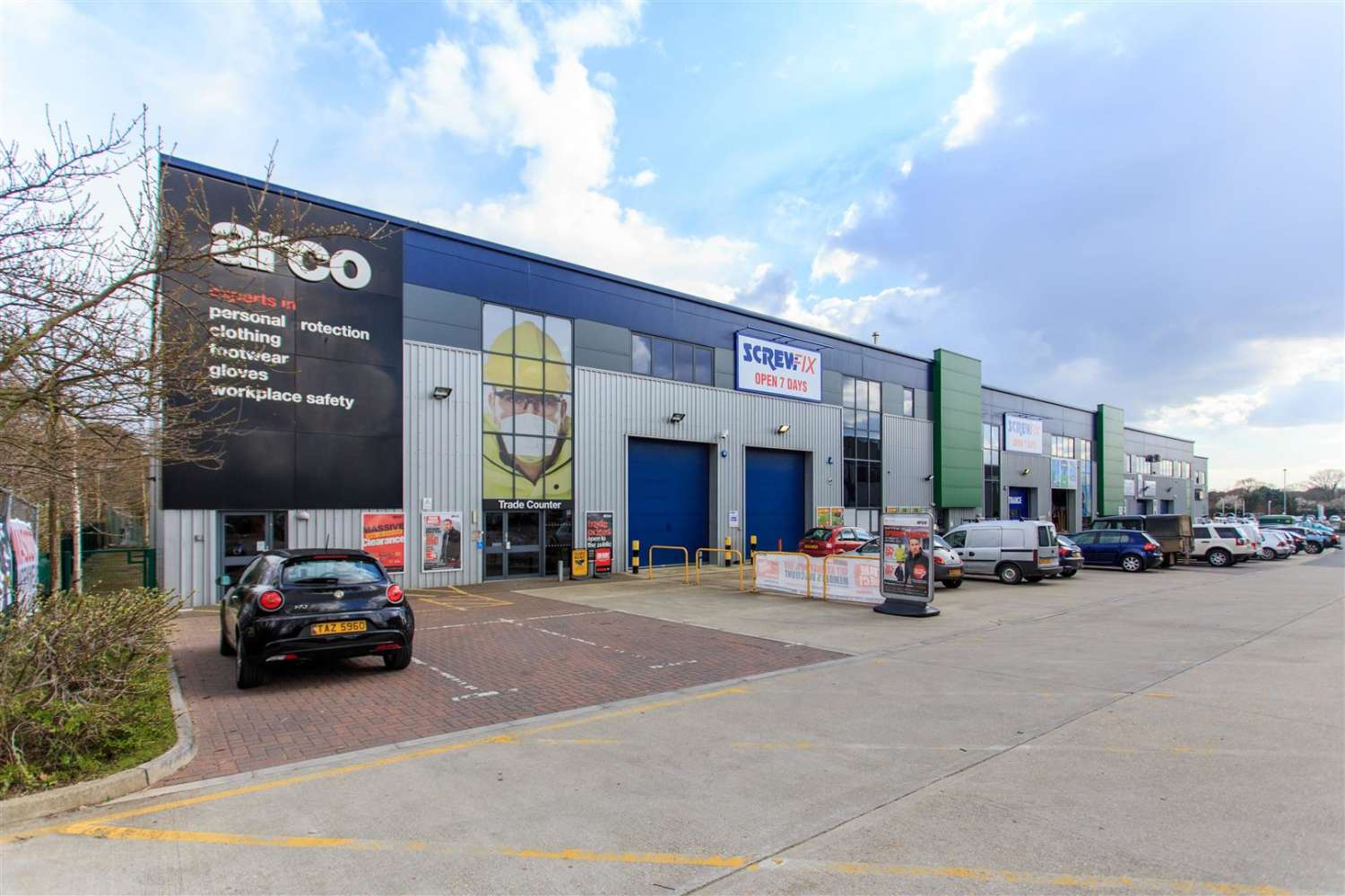 Industrial and logistics Poole, BH17 7AE - Unit 5, Broadstone Trade Centre - 1503247333