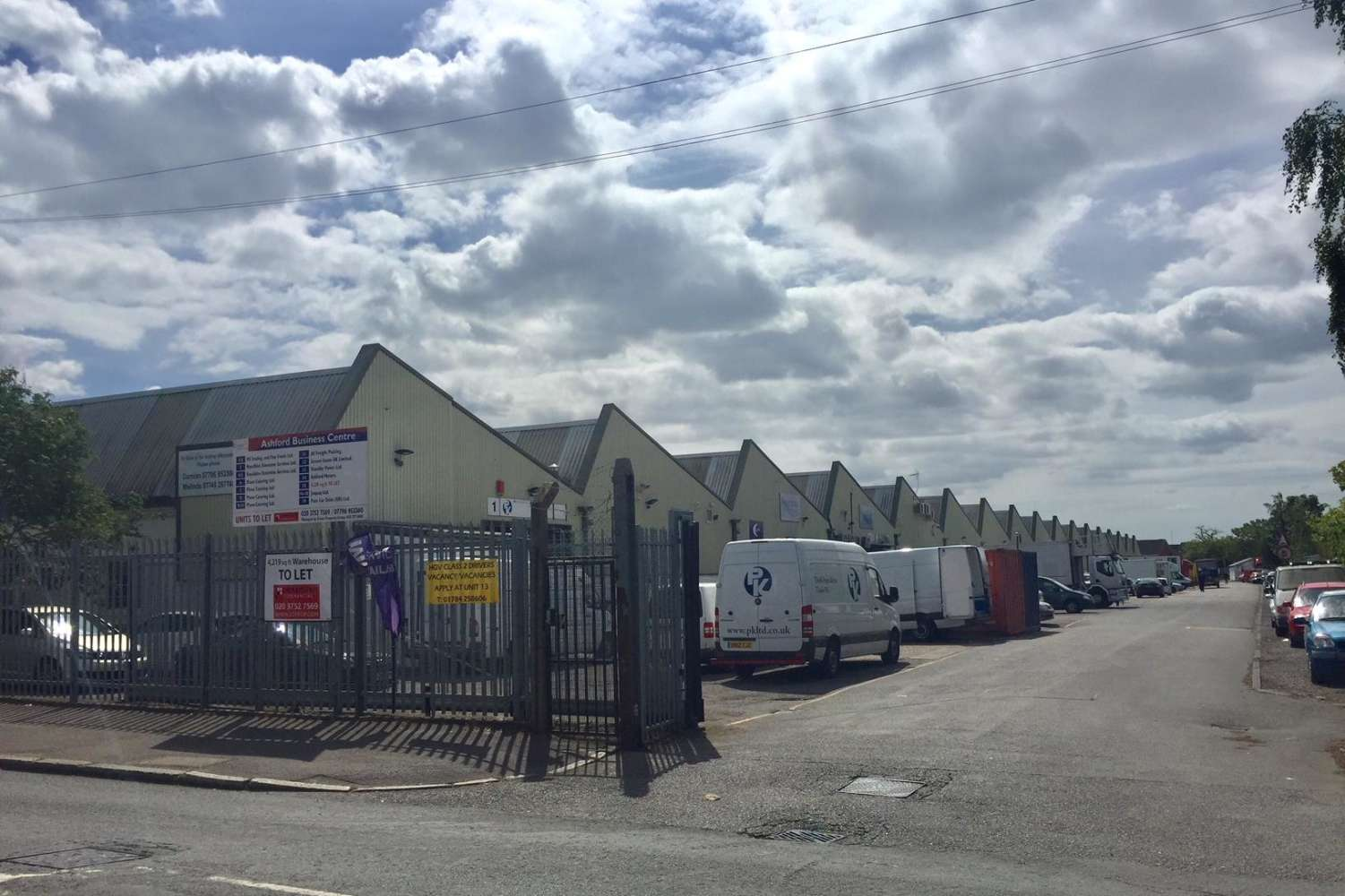 Industrial Ashford, surrey, TW15 1YQ - Units 6 & 7, Ashford Business Centre - 70114