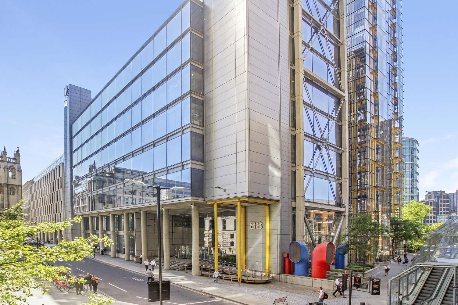 Offices London, EC2V 7QQ - 88 Wood Street - 01624