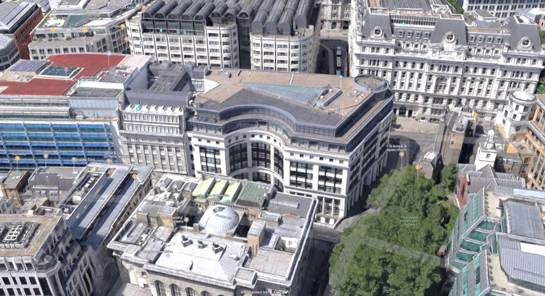 Office London, EC2V 7QP - 2 Gresham Street - 2