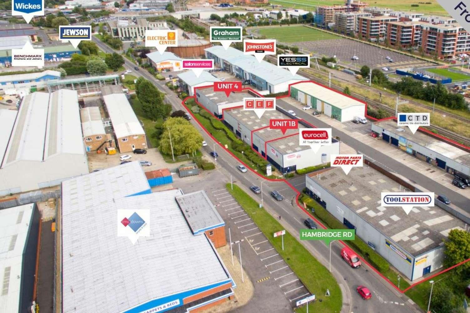 Industrial Newbury, RG14 5TQ - The Paddock Trading Estate - 1