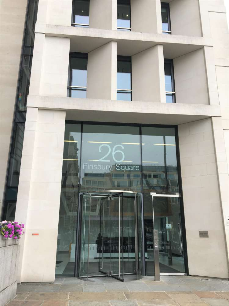 Office London, EC2A 1DS - 26 Finsbury Square - 0130
