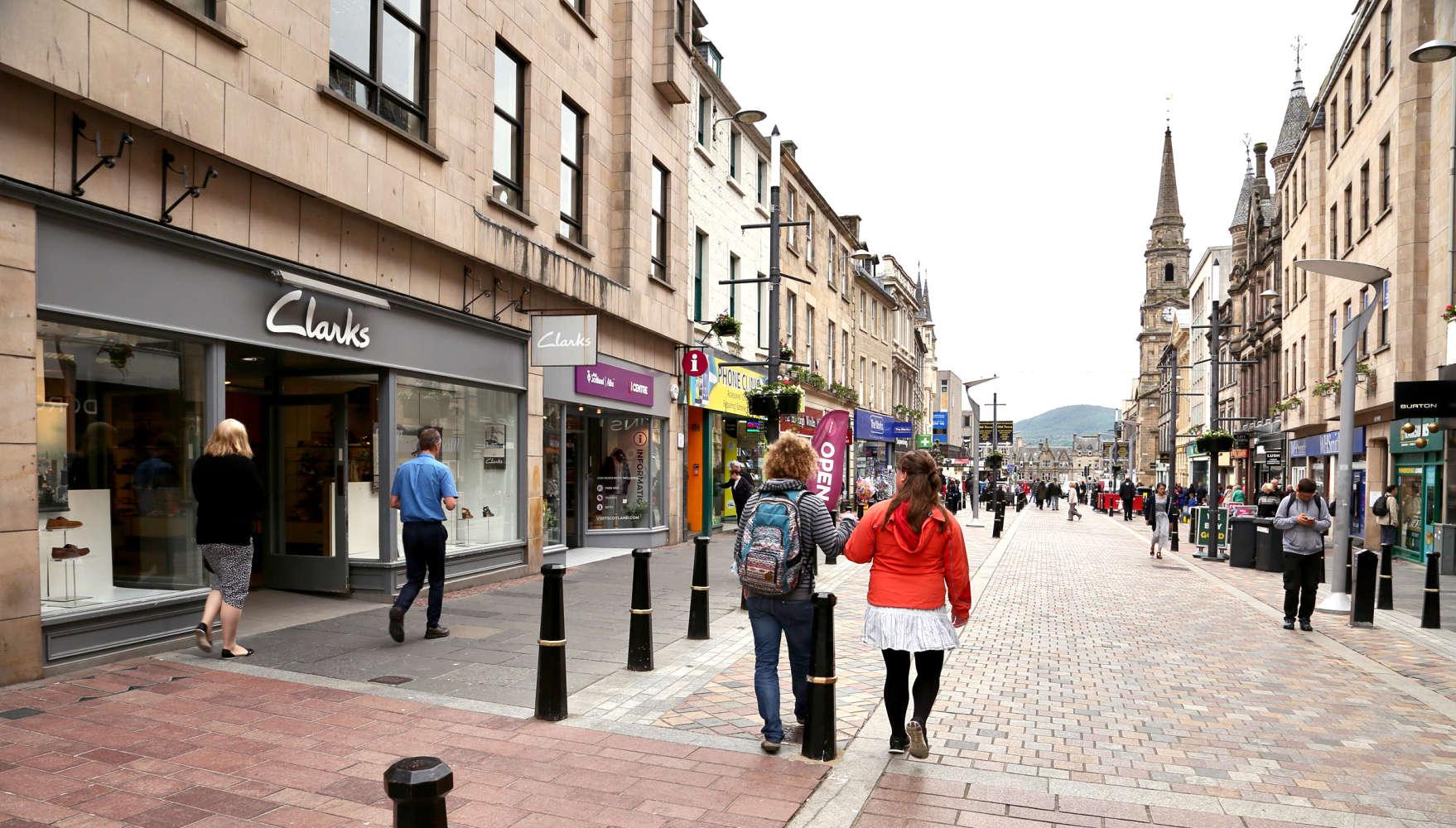 Retail high street Inverness, IV1 1JE - 40-42, High Street - 0029