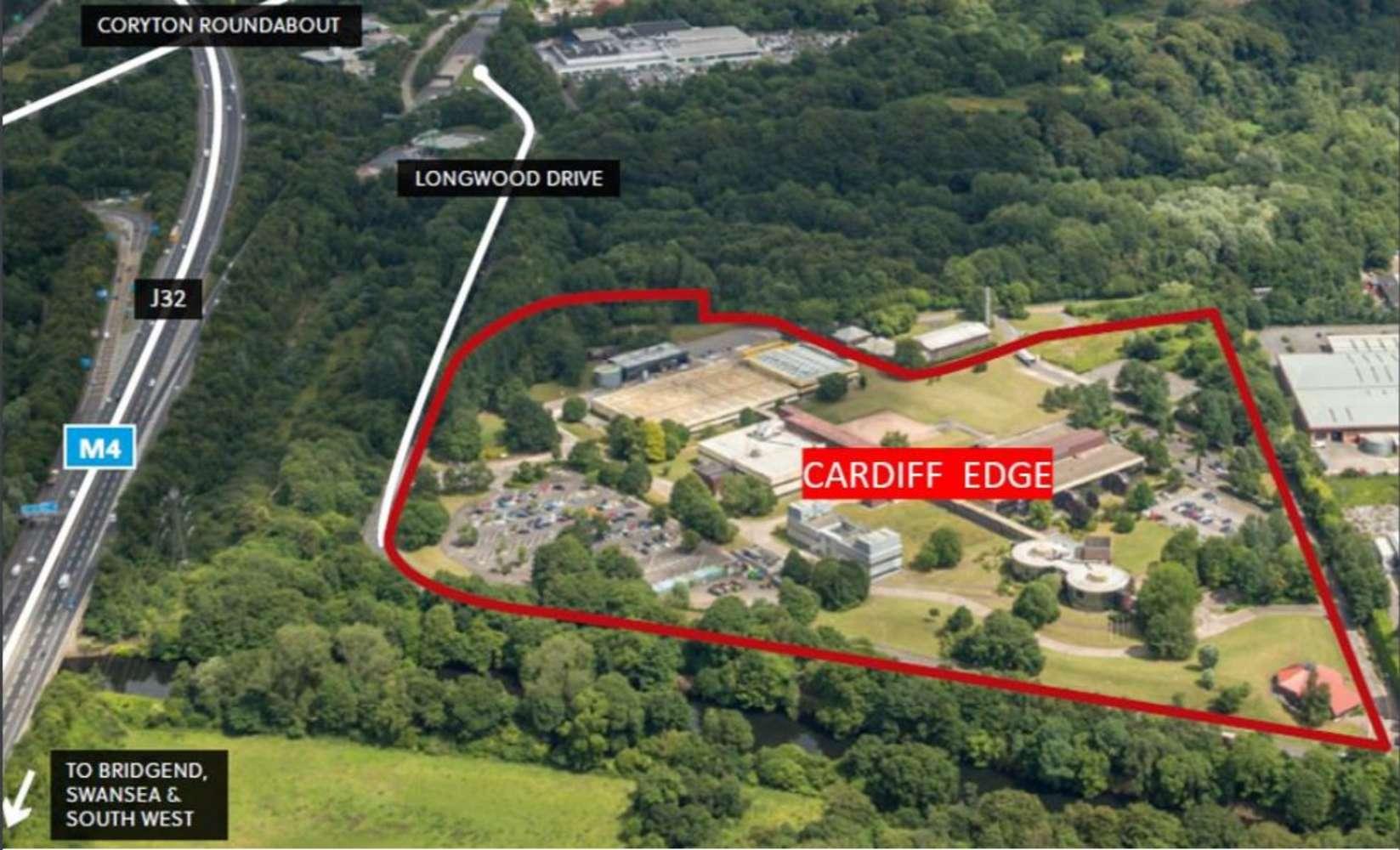Office Cardiff, CF14 7YT - Cromlin East & West, Cardiff Edge Business Park - 88308
