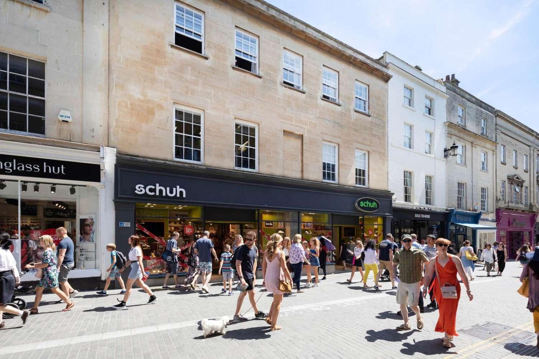 Retail high street Bath, BA1 1QE - 7-8, Stall Street - 73293
