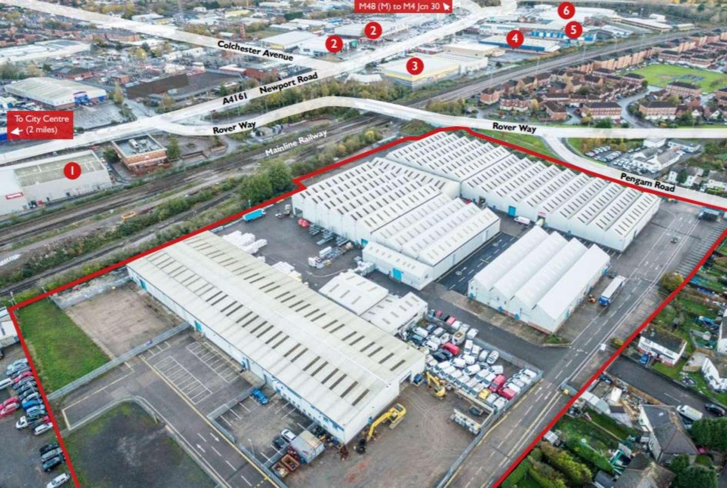 Industrial Cardiff, CF24 2RZ - Unit 6, St Catherine's Park  - 73762