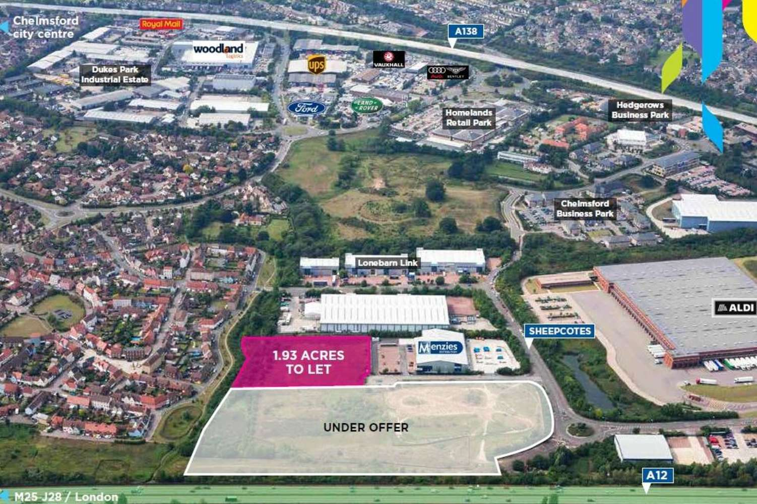Industrial Chelmsford, CM2 5BB - Phase II, Springfield Business Park - 75924