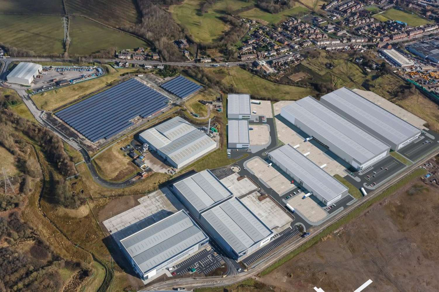Industrial Bolton, BL5 1BT - Multiply at Logistics North - Phase 3 - 1