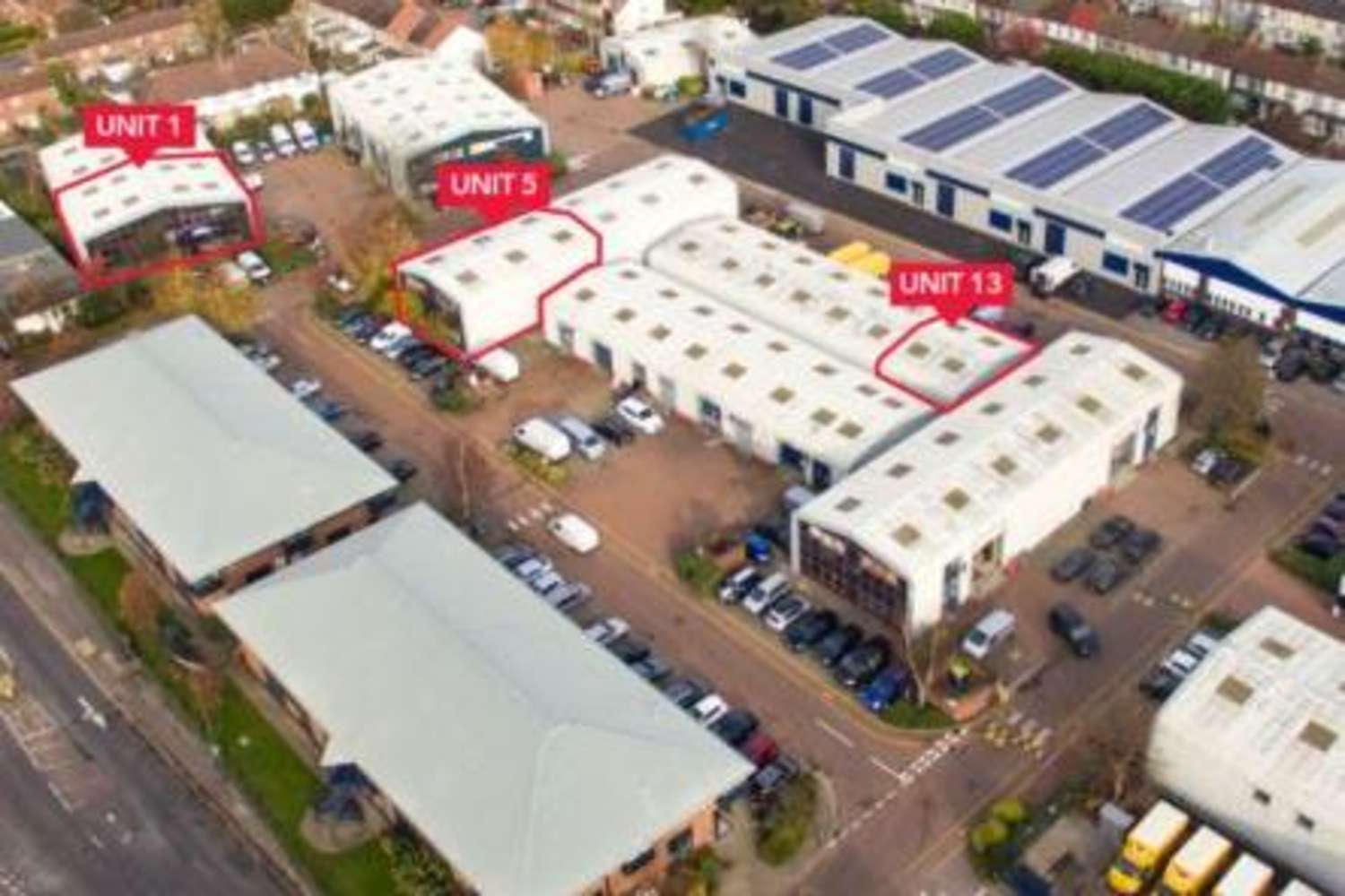 Industrial Mitcham, CR4 3TD - Units 1, 2, 5 & 13 Boundary Business Court - 1