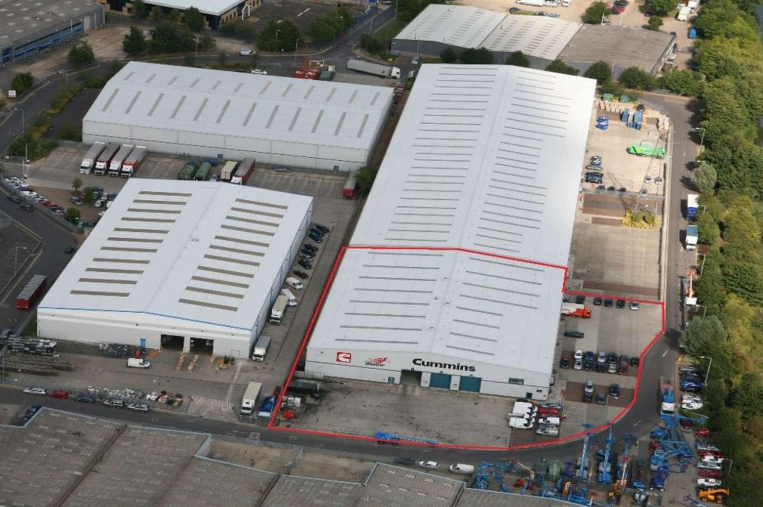 Industrial Iver, SL0 9JQ - Unit 1B Ridgeway Distribution Centre - 1