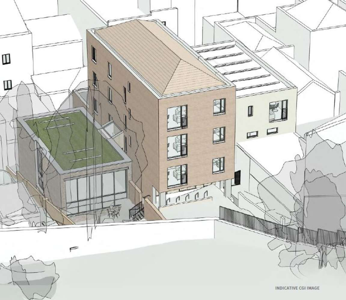 Land Bristol, BS1 5JY - Land to the rear of 62 and 68 Park Street - 2