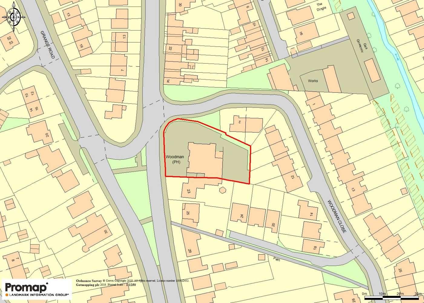 Land Halesowen, B63 3JJ - The Woodman - 0329