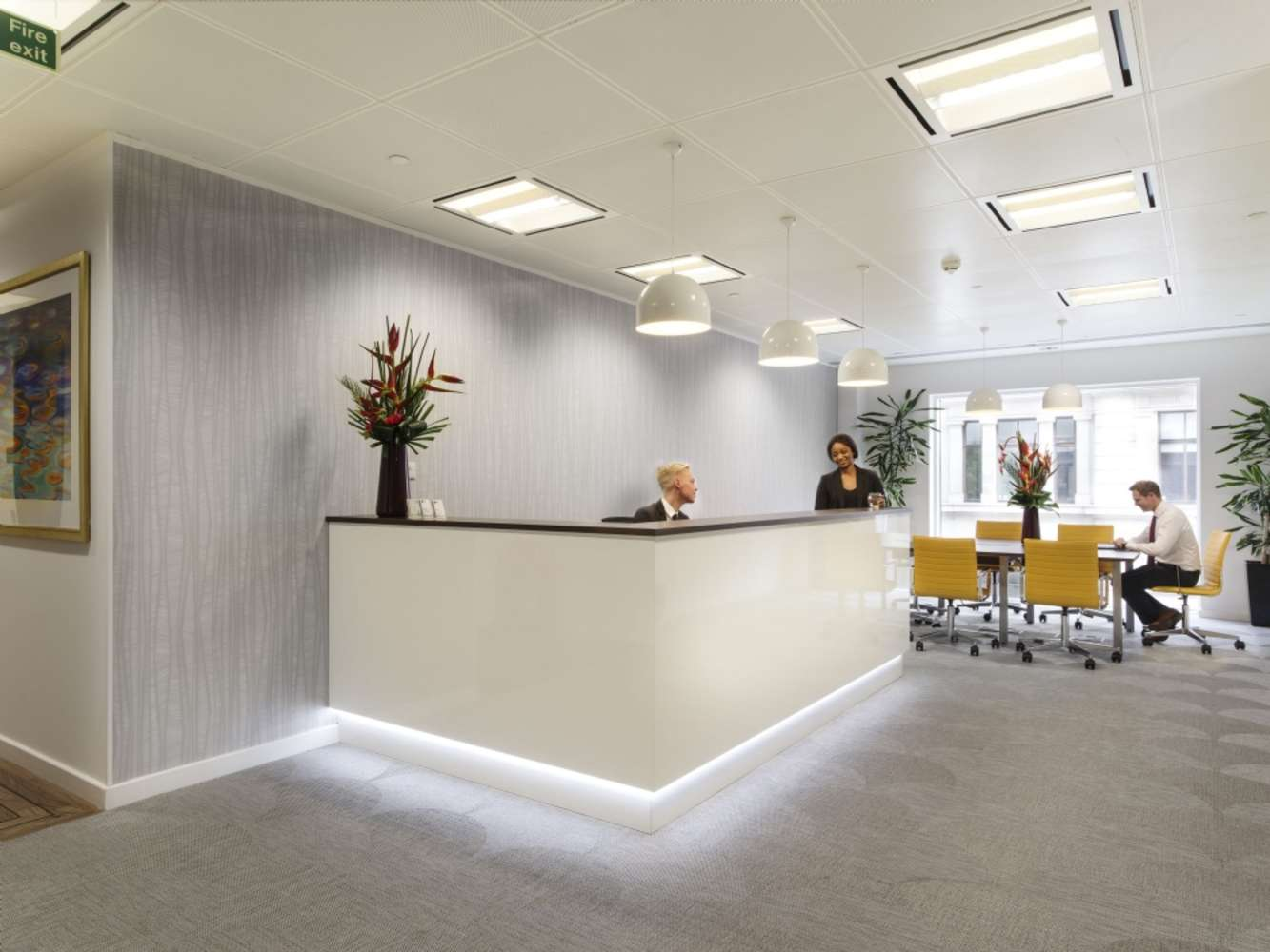 Serviced office London, EC2V 7BB - 60 Gresham Street - 980