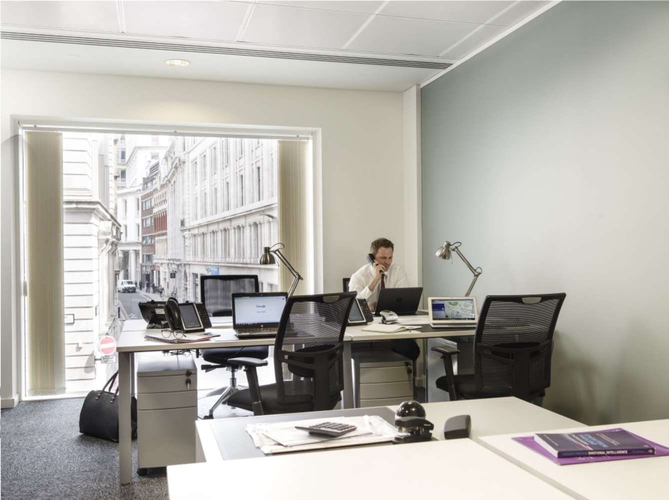Serviced office London, EC2V 7BB - 60 Gresham Street - 981