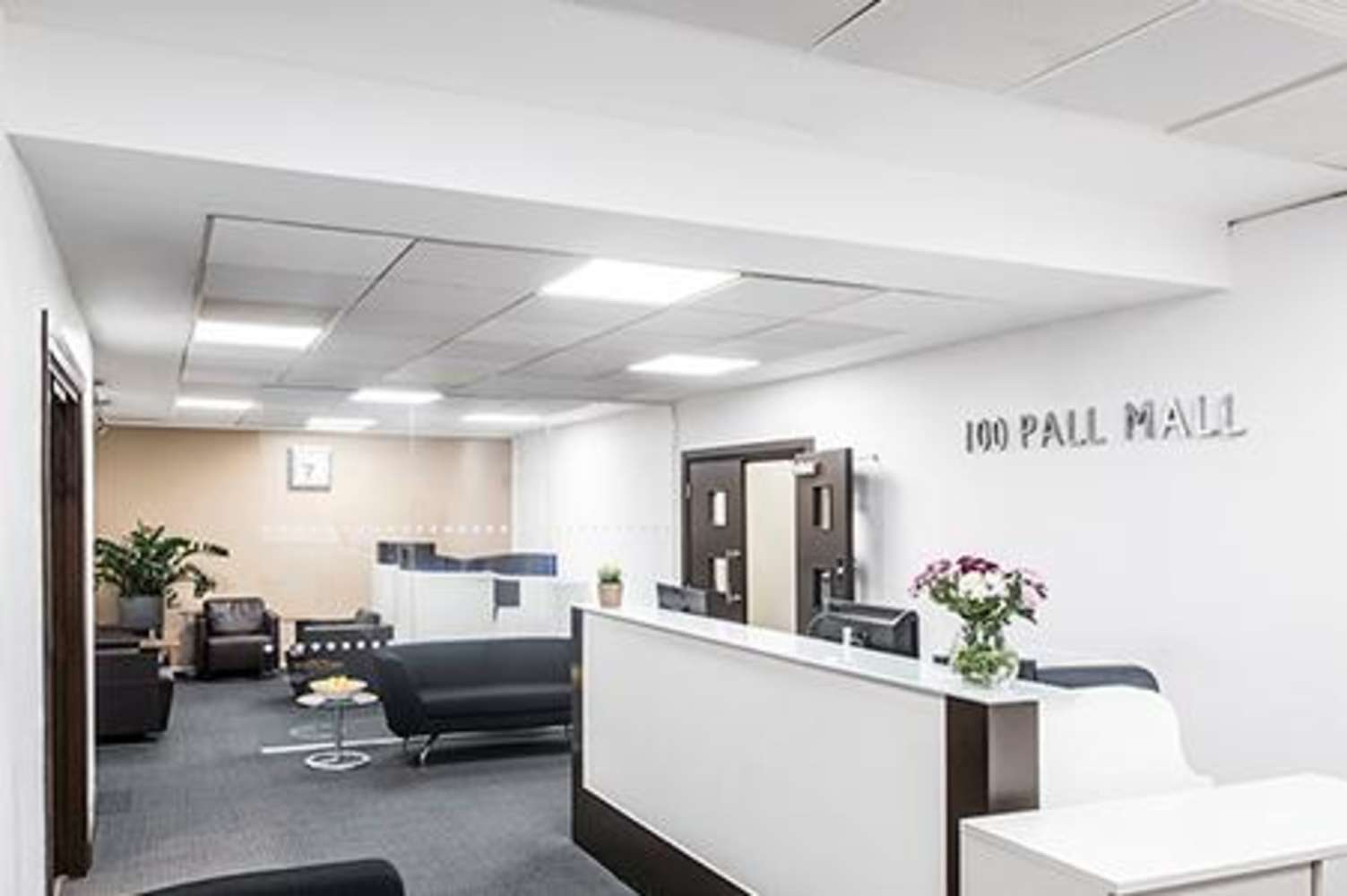 Serviced office London, SW1Y 5NQ - 100 Pall Mall  - 100