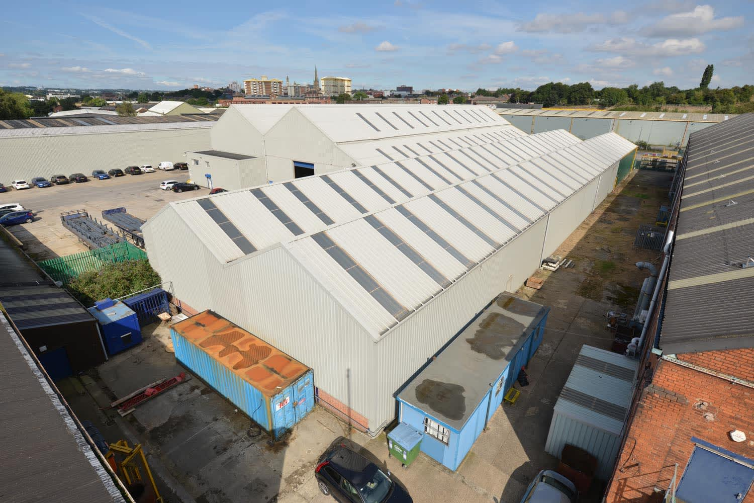 Industrial Wakefield, WF1 5PE - Unit 14c Greens Industrial Estate - 18200