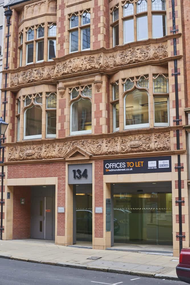 Offices Birmingham, B3 2ES - 134 Edmund Street - 303
