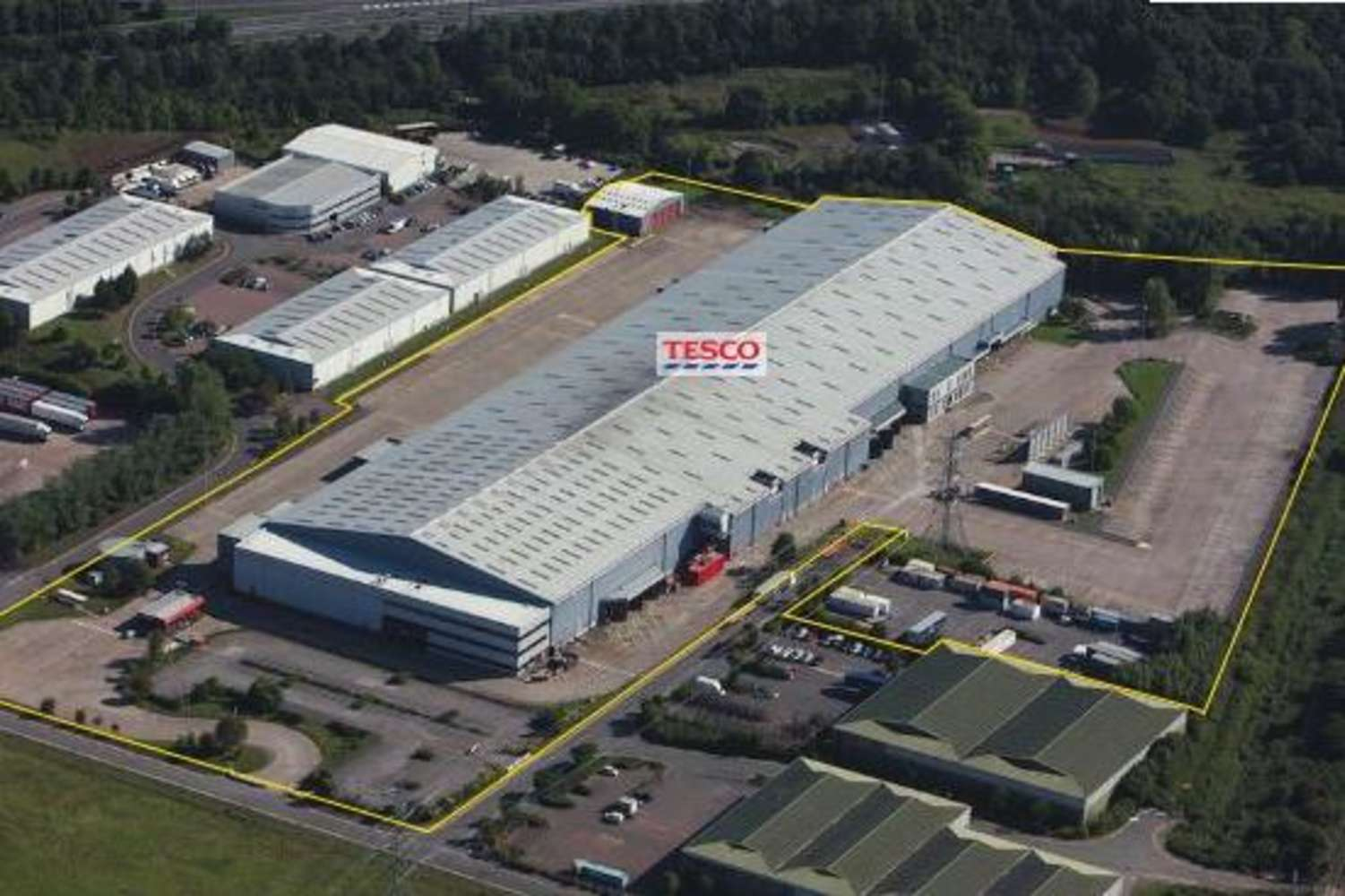Industrial and logistics Chepstow, NP16 6UP - Former Tesco Distribution Centre, Newhouse Farm Industrial Estate - 7273