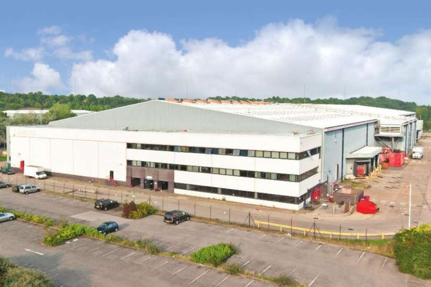 Industrial and logistics Chepstow, NP16 6UP - Former Tesco Distribution Centre, Newhouse Farm Industrial Estate - 7275