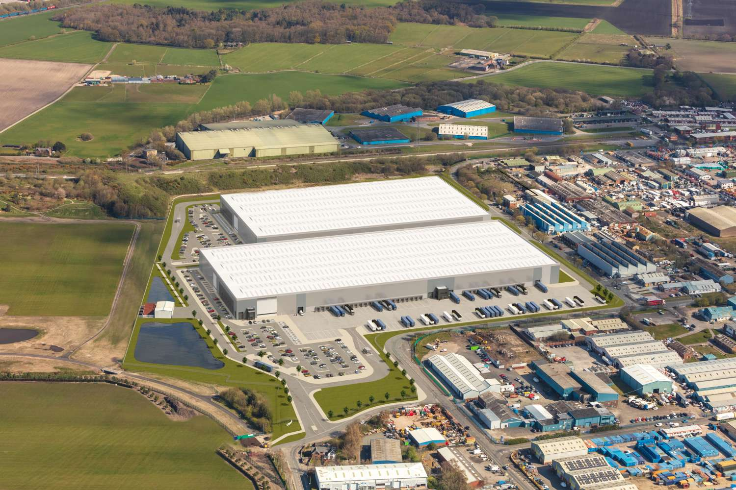 Industrial and logistics Liverpool, L33 7XQ - PLP Knowsley - 2