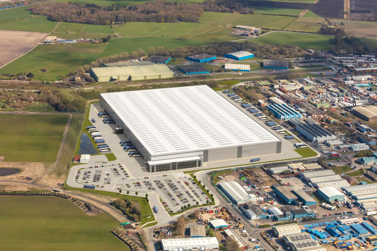 Industrial and logistics Liverpool, L33 7XQ - PLP Knowsley - 1