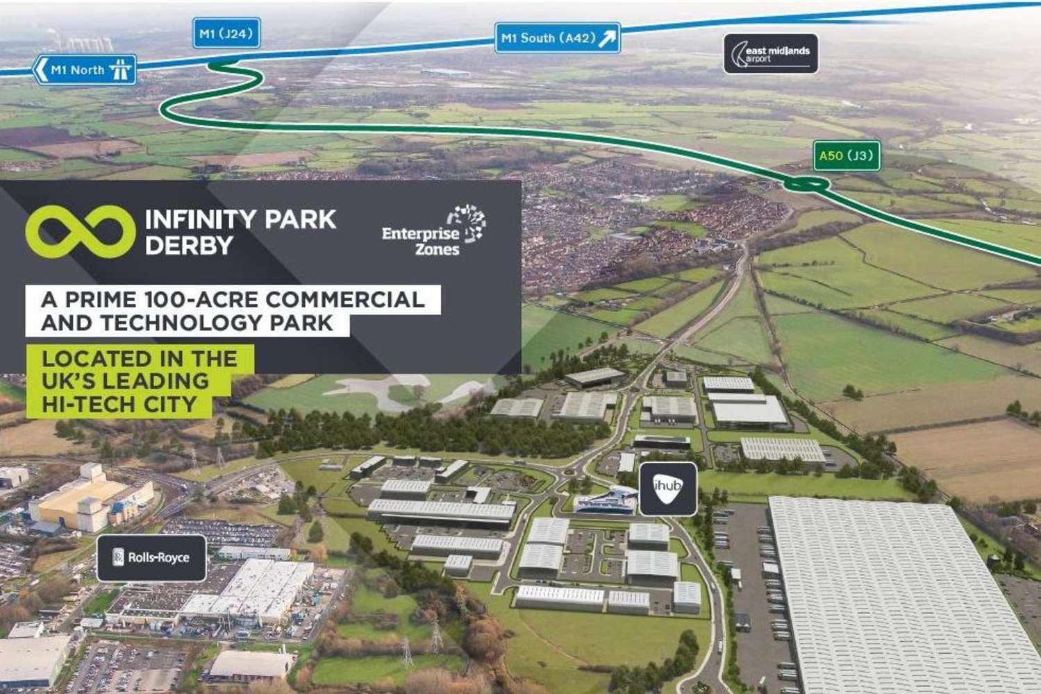 Industrial and logistics Derby, DE24 9BD - Plot A. Infinity Park Derby - 9888