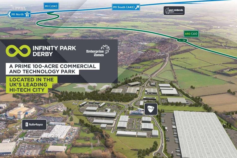Industrial and logistics Derby, DE24 9BD - Plot B. Infinity Park Derby - 9896