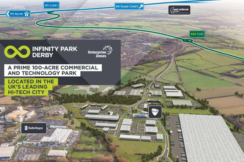 Industrial and logistics Derby, DE24 9BD - Plot E. Infinity Park Derby - 9892