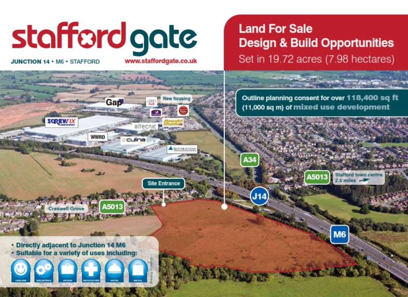 Industrial and logistics Stafford, ST18 9QP - Stafford Gate - 8010