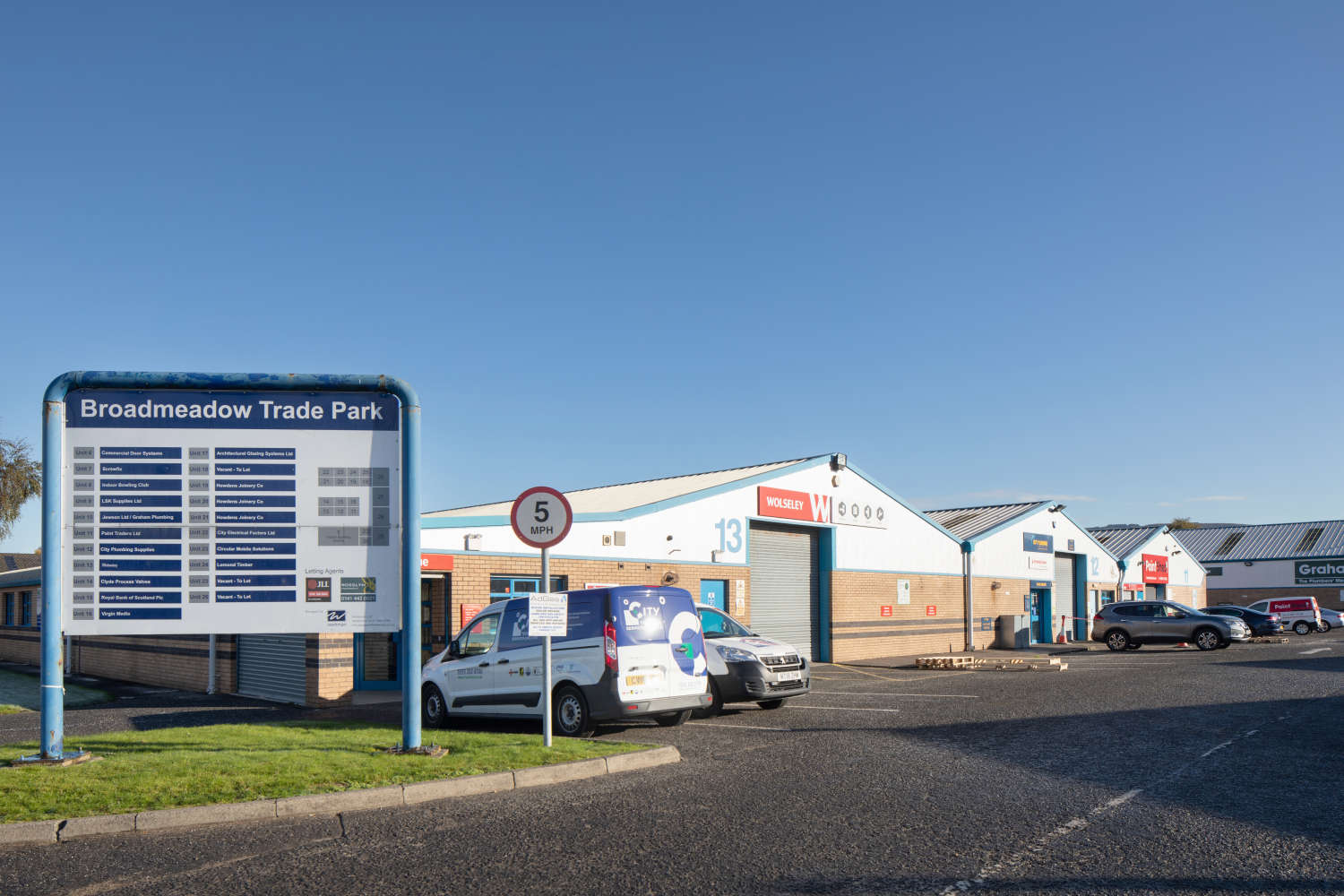 Industrial and logistics Dumbarton, G82 2RE - Broadmeadow Trading Estate - 1