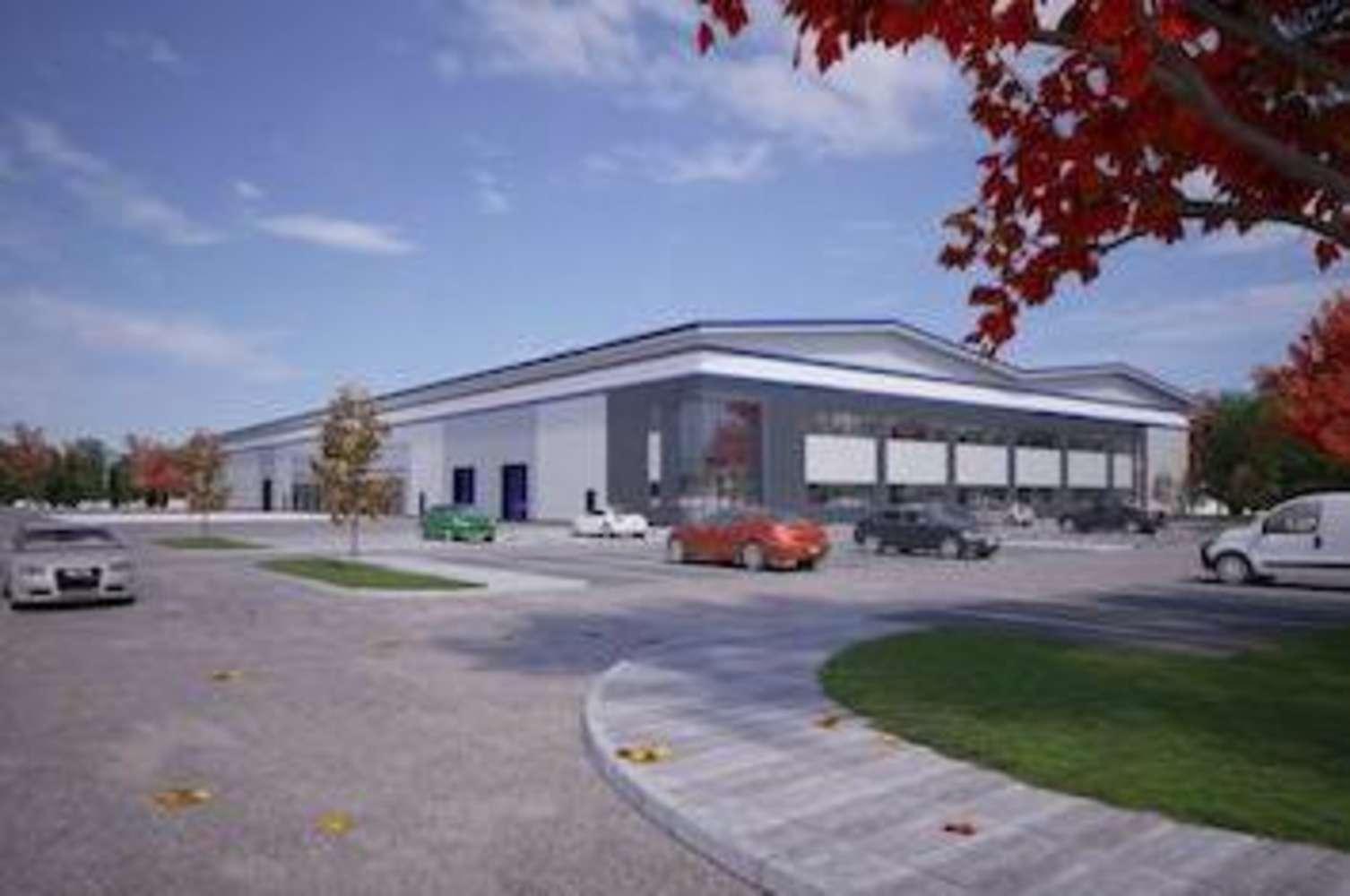 Industrial and logistics Nottingham, NG6 8YP - Blenheim Park - Design & Build - 7354255