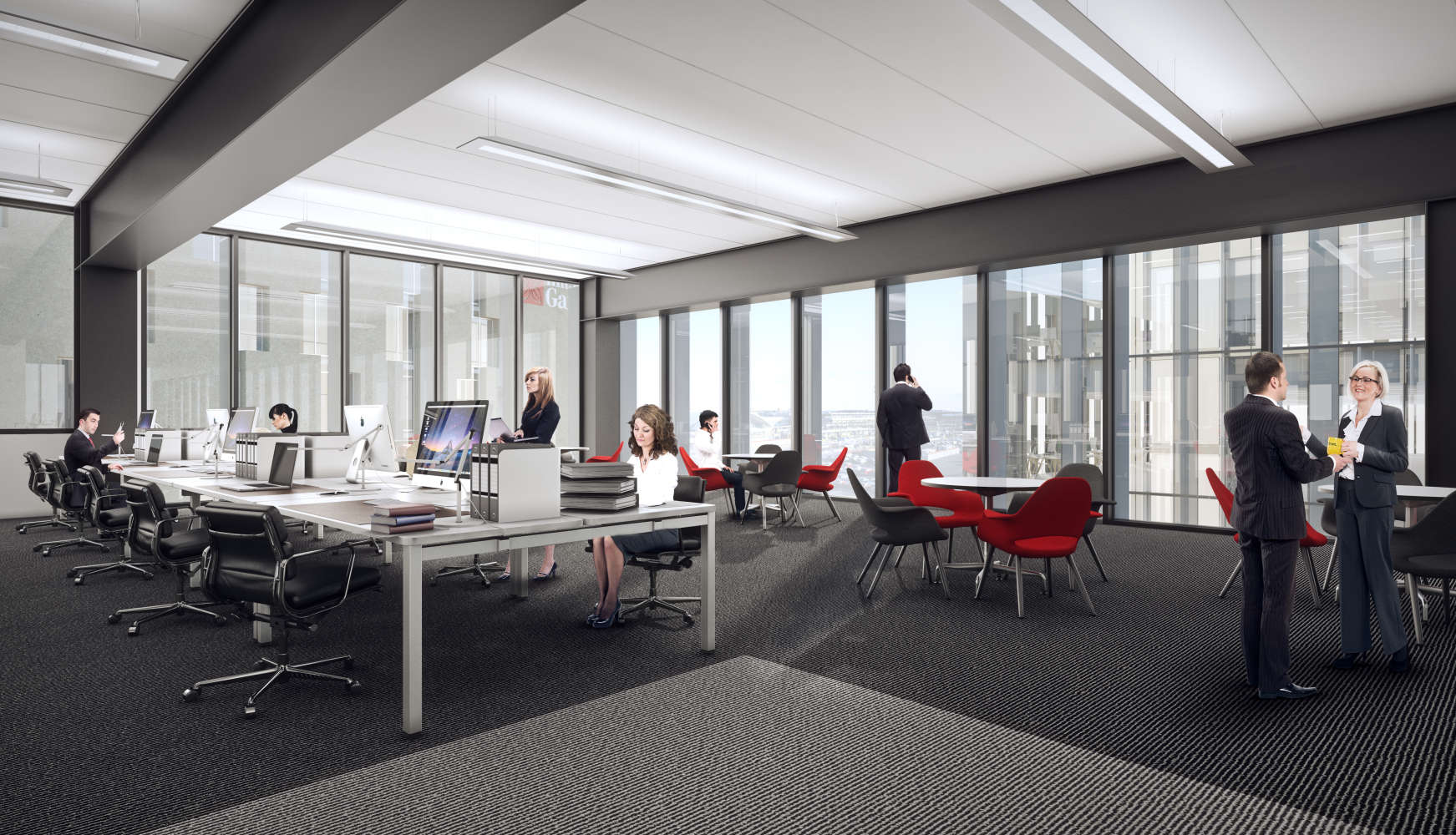 Office Manchester, M90 1QX - Airport City - 21437