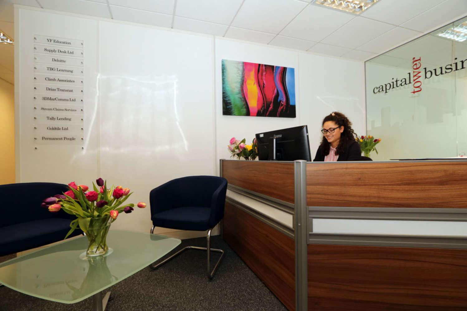 Office Cardiff, CF10 3AZ - Capital Tower Business Centre - 11848