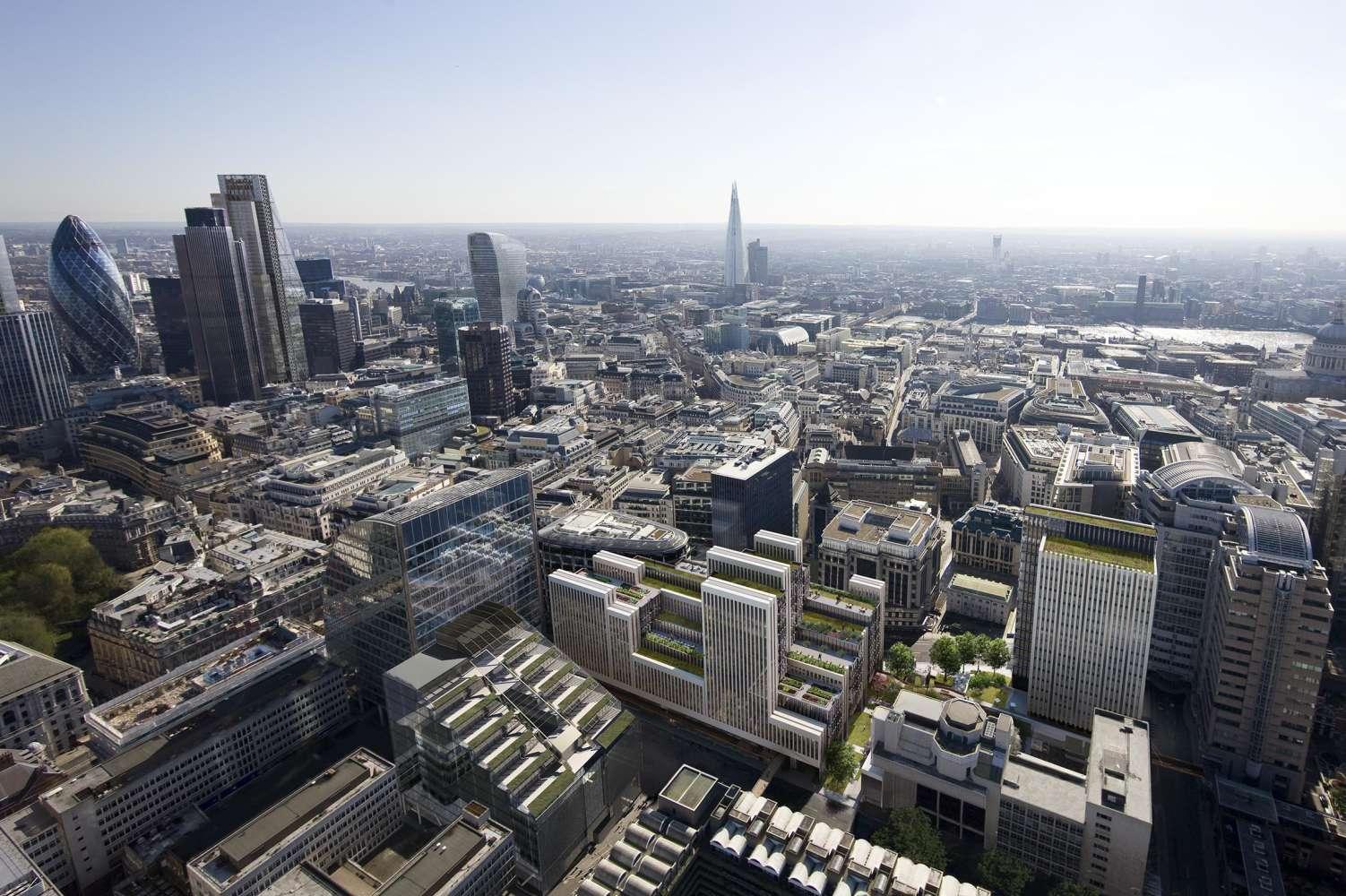 Office London, EC2Y 5DA - 2 London Wall Place - 101013