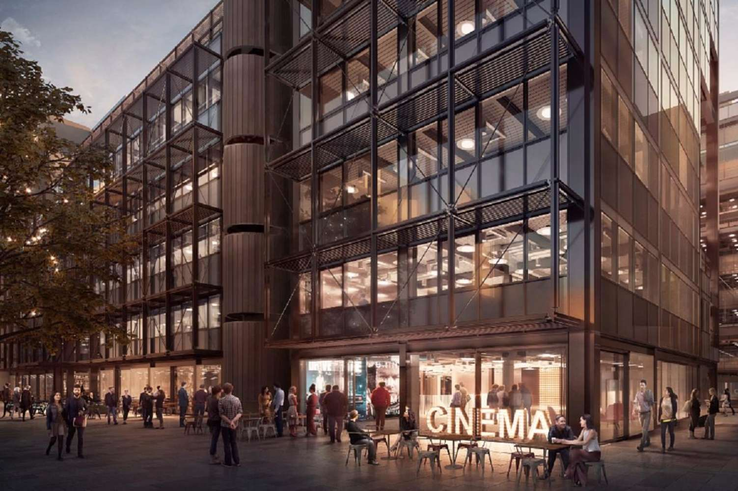 Office London, EC2M 2PP - 1 Finsbury Avenue - 4