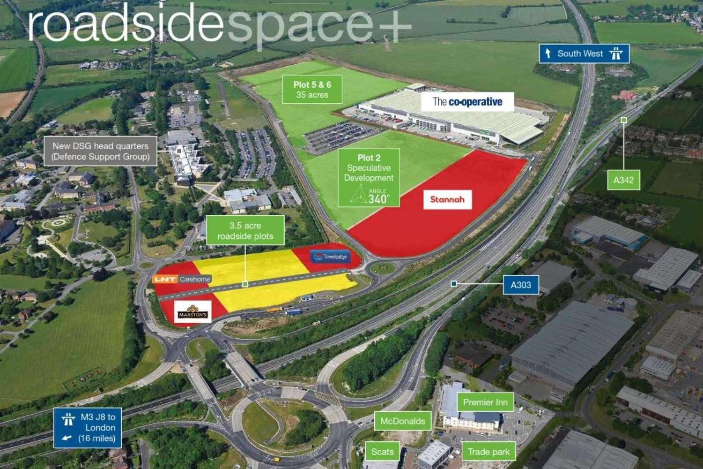 Land Andover, SP11 8HT - Roadside Space +  - 15421
