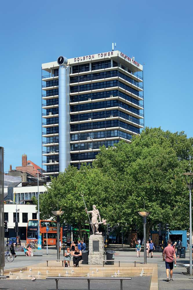 Office Bristol, BS1 4XE - Colston Tower - 8481