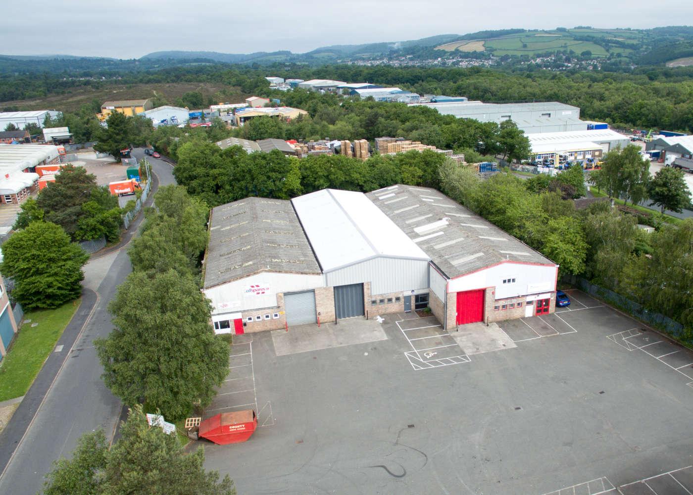 Industrial and logistics Newton abbot, TQ12 6UD - 26 Crossgrange Trading Estate, Heathfield Industrial Estate - 1