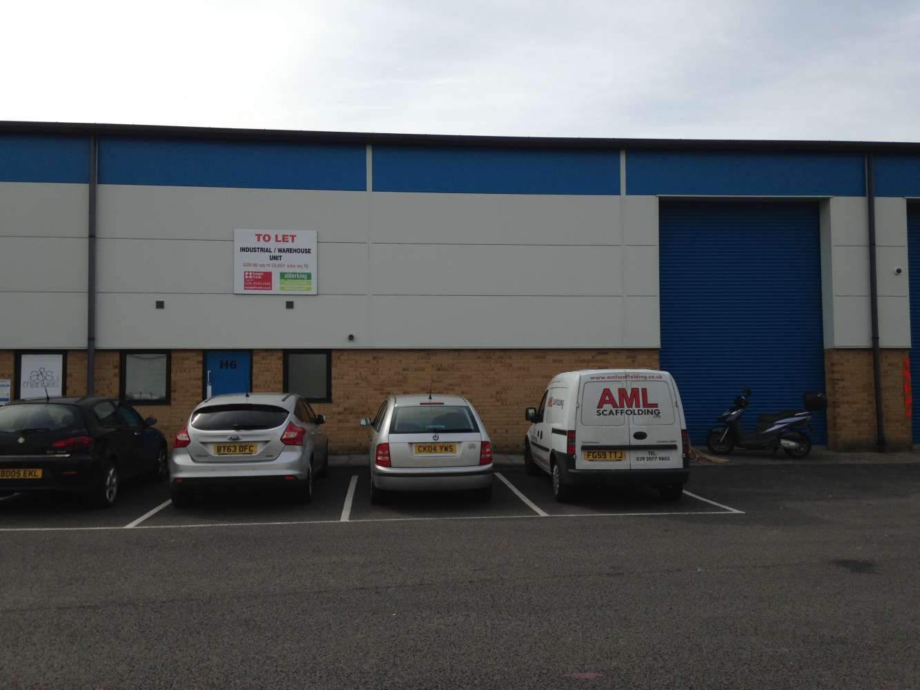 Industrial Cardiff, CF3 2PX - Unit H6, The Levels Business Park - 1587
