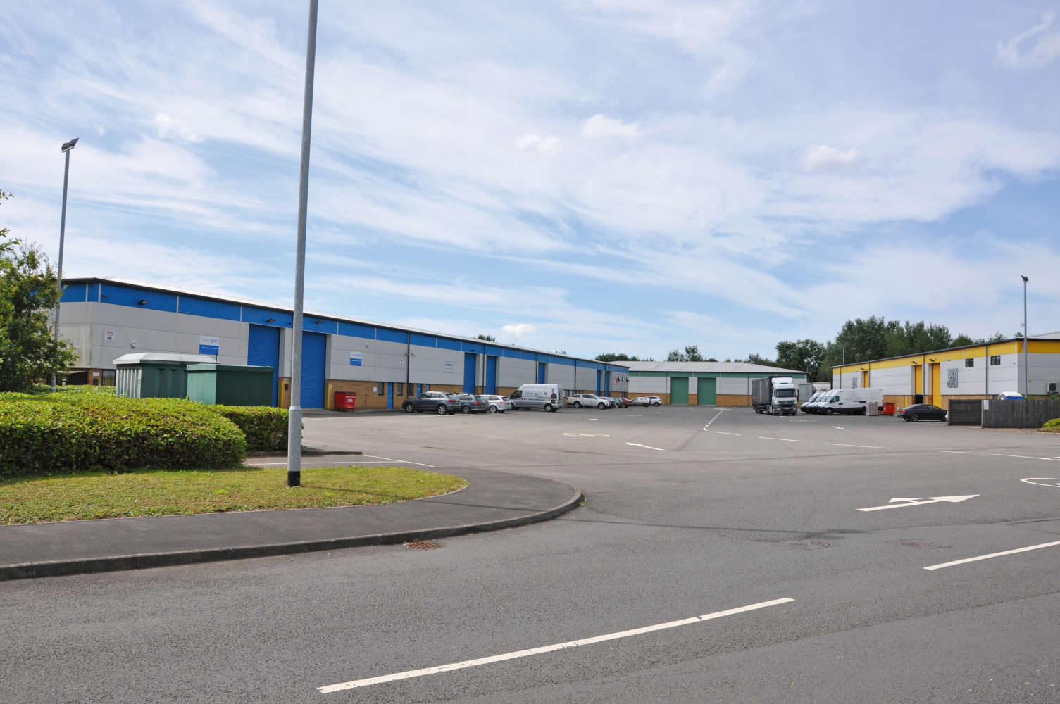 Industrial Cardiff, CF3 2PX - Unit M1, The Levels Business Park - 01